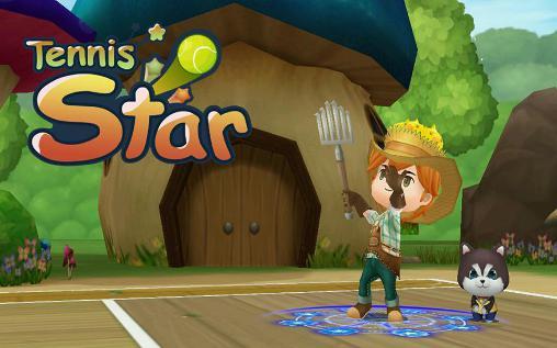 Tennis star Symbol