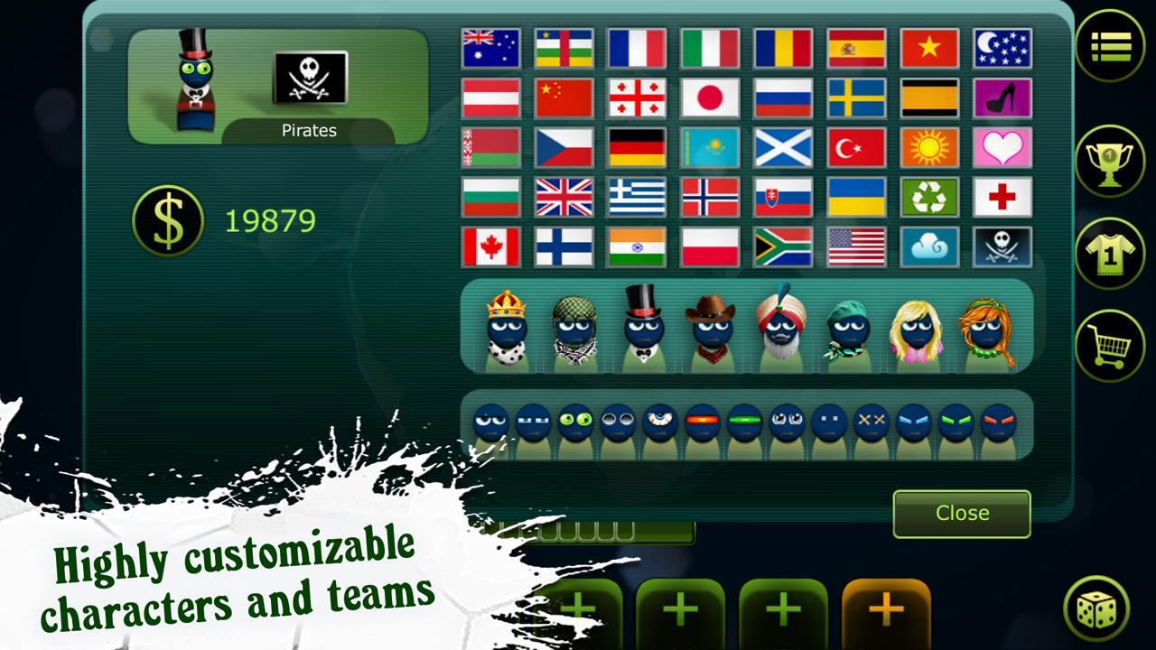 FootLOL: Crazy Soccer! Action Football game スクリーンショット1