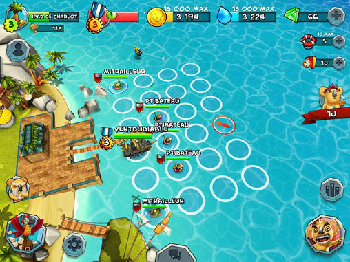 Tropical wars for Android