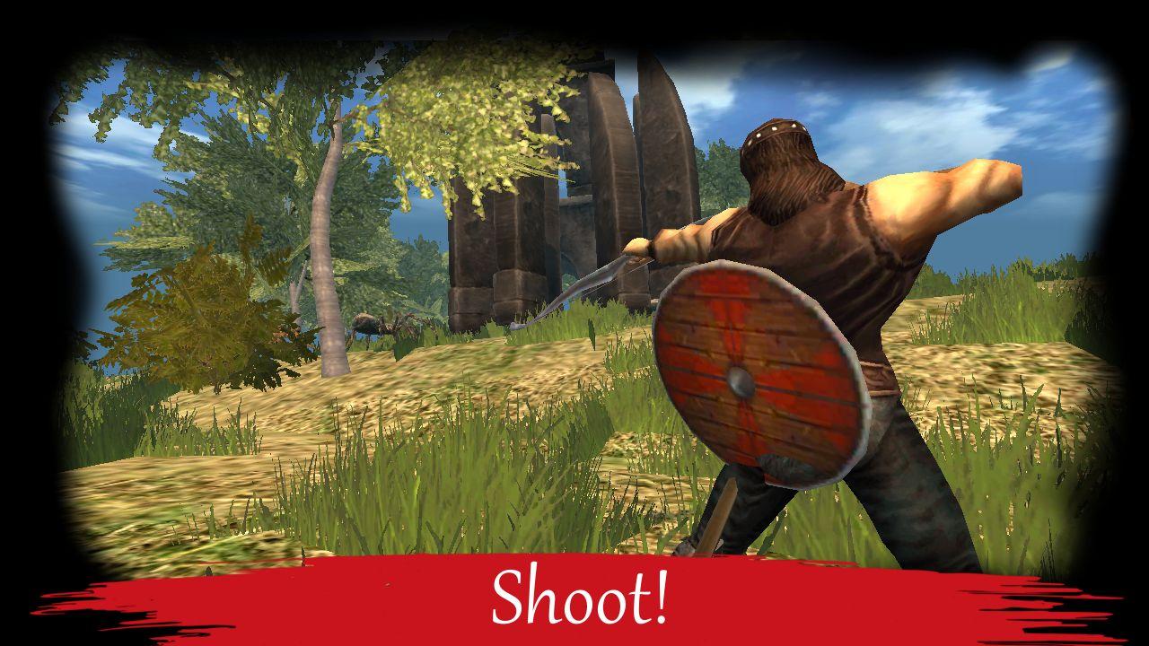BARBARIAN: OLD SCHOOL ACTION RPG screenshot 1