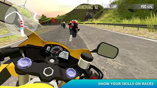 Carreras World of riders para teléfono inteligente