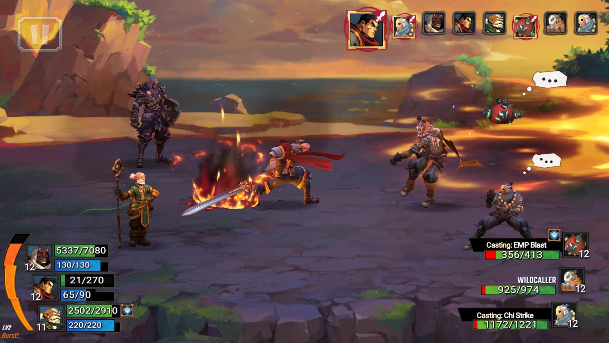 Battle Chasers: Nightwar для Android