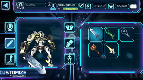 RPG-Spiele Fhacktions: Real world, team PvP conquest battles für das Smartphone