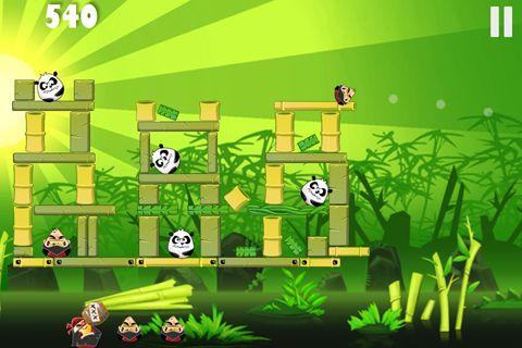 Piraten gegen Ninjas gegen Zombies gegen Pandas für iPhone