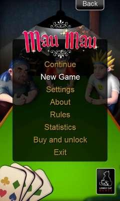Mau Mau скриншот 1
