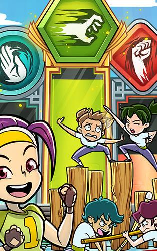 Arcade-Spiele Kung fu clicker für das Smartphone
