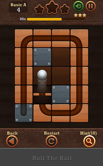 Roll the ball: Slide puzzle 2 pour Android