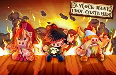 Arcade-Spiele: Lade Hambo auf dein Handy herunter