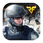 Rush fire: Free online shooting game Symbol