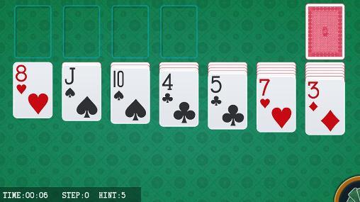 Juegos de lógica Royale solitaire para teléfono inteligente