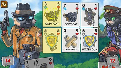 Meow wars: Card battle für Android