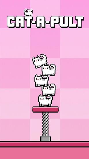 Cat-a-pult: Toss 8-bit kittens Screenshot