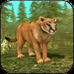 Wild cougar sim 3D icône