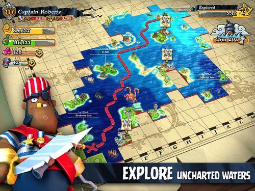 Screenshot Plündernde Piraten auf dem iPhone