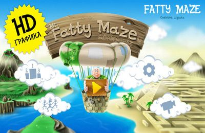 Screenshot Fatty Maze's Adventures on iPhone