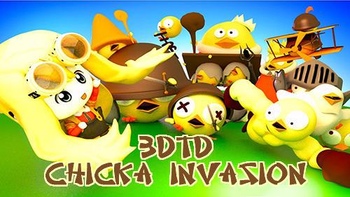 logo 3D défense de tour: Invasion des poulets