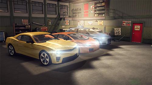 Simulation Sport car parking 2 für das Smartphone