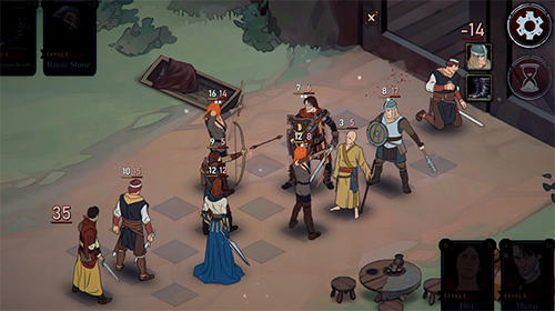 Ash of gods: Tactics für Android
