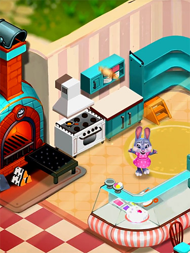 Logique Sweet escapes: Design a bakery with puzzle games pour smartphone