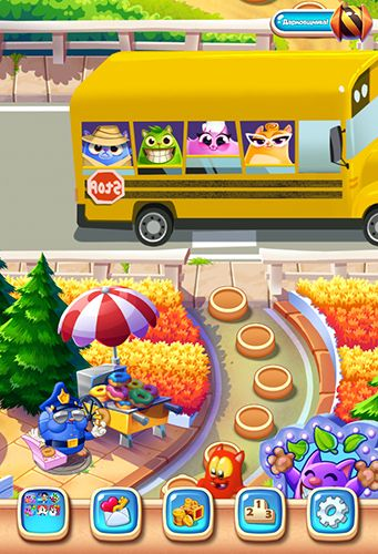Arcade games: download Cookie cats blast to your phone