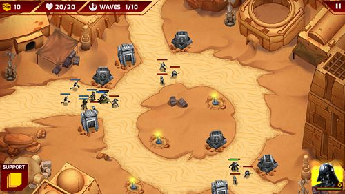 Star Wars: Galaktische Verteidigung für iPhone