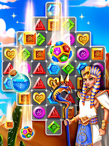 Pharaoh jewels crush pour Android