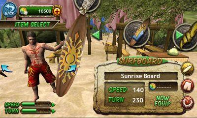 Juegos de arcade Ancient Surfer para teléfono inteligente