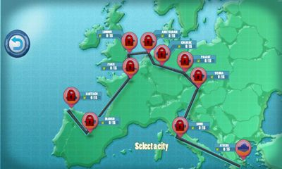 Logikspiele Push-Cars 2 On Europe Streets für das Smartphone