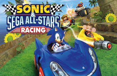 logo Les Courses de Sonic et de tous les Stars de SEGA