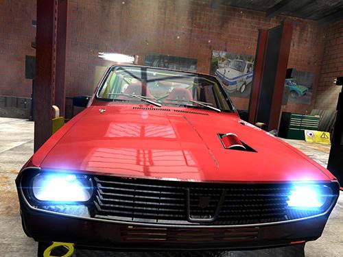 Iron curtain racing: Car racing game captura de pantalla 1