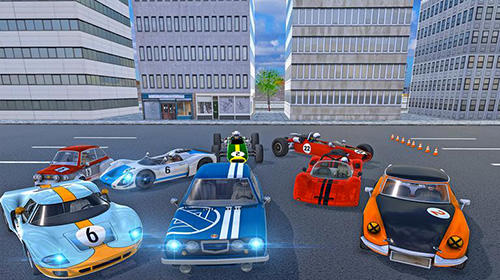 Rennspiele Ultimate car driving simulator: Classics für das Smartphone