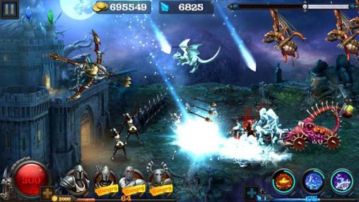 Arcade games Hell zombie for smartphone