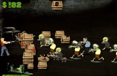 Скриншот Зомби - Барикады на Айфон
