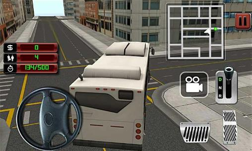 City bus driver 3D in English