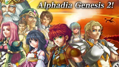logo RPG Alphadia génesis 2