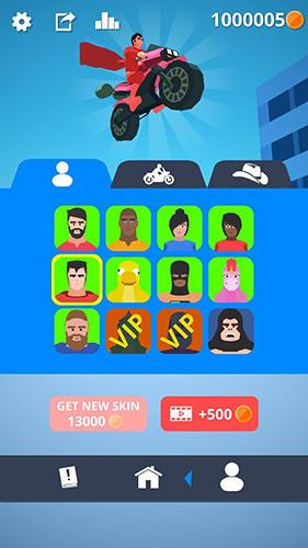 Arcade-Spiele Flip man! für das Smartphone