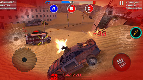 Mad war: Craft and drive para Android