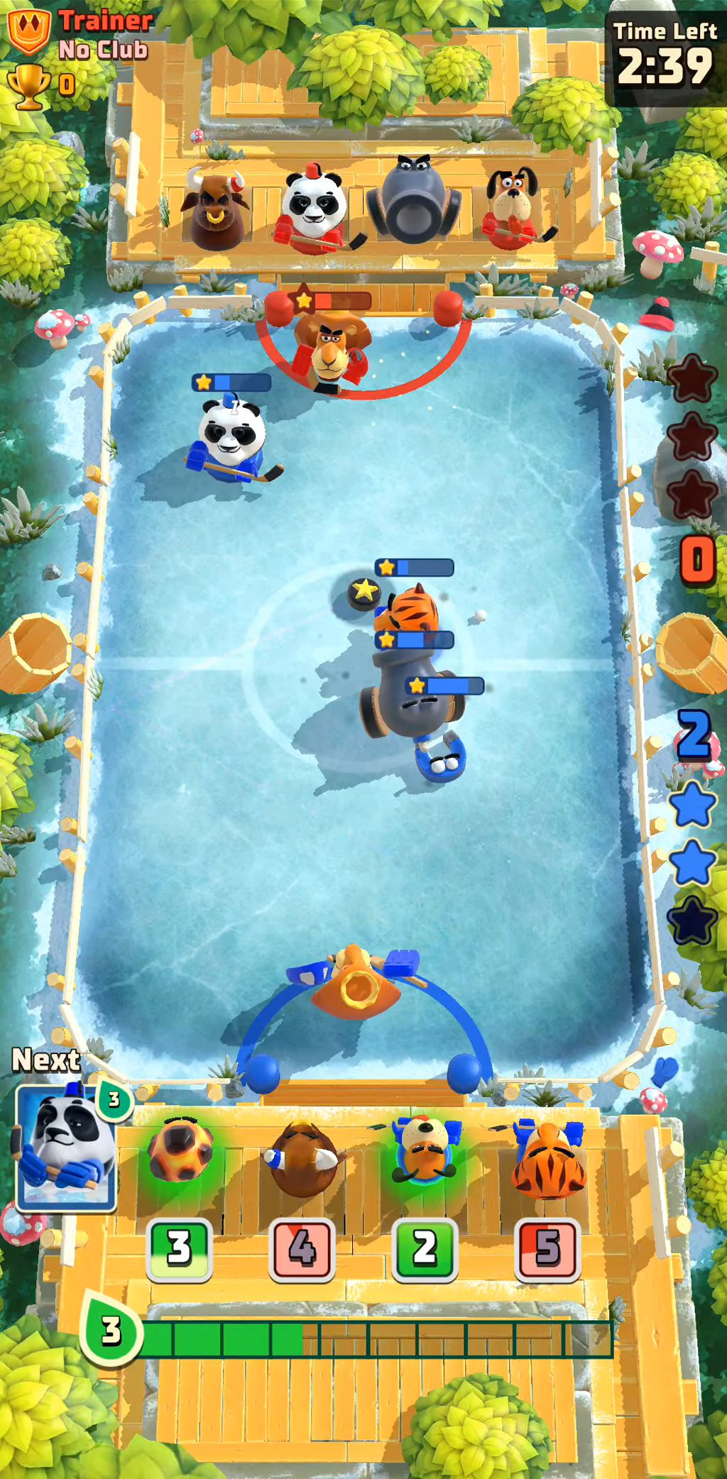 Rumble Hockey screenshot 1