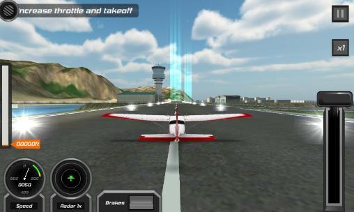 Flight pilot: Simulator 3D auf Deutsch