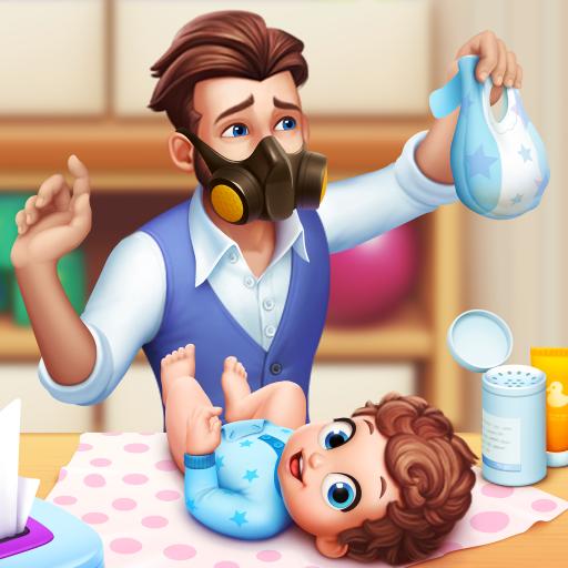 Baby Manor: Baby Raising Simulation & Home Designіконка