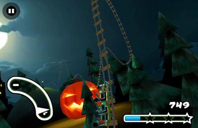 Screenshot 3D Achterbahn : Geister auf dem iPhone