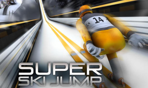 Super ski jump Screenshot