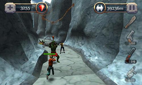 Arcade-Spiele Canyon hunter: Run and shoot für das Smartphone