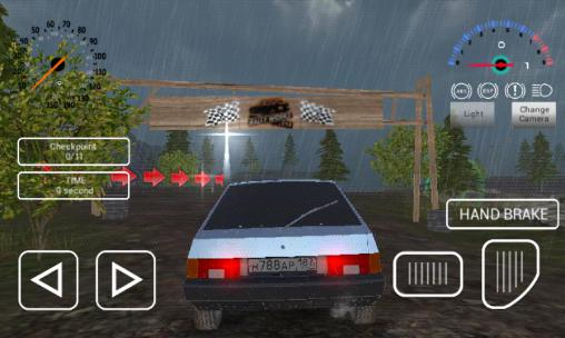 Simulation Russian car driver HD for smartphone