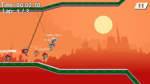 Arcade Rope racers für das Smartphone