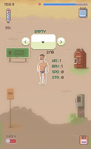 Beach hero RPG screenshot 1