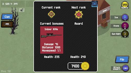 RPG Zombix online für das Smartphone