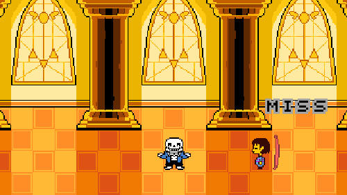 Sans vs Frisk screenshots