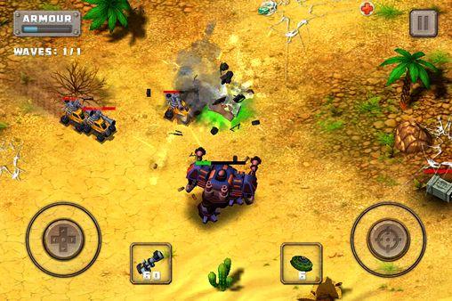 Juegos de acción: descarga Locura de acero: Jefe de batalla a tu teléfono