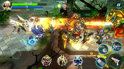 Eternity legends: League of gods dynasty warriors für Android